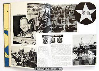 USS Kearsarge CVA 33 Far Eas Cruise Book 1954 1955