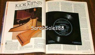 KEYBOARD Magazine Sep 1986 Keith Jarrett Igor Kipnis Soundpg, Yamaha