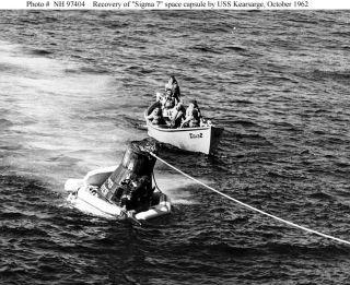 USS Kearsarge CV 33 Cruise Book NASA Recovery Deployment Year Log 1963