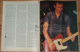 Queen Pete Townshend Keith Richards Freddie Mercury Rossington Collins