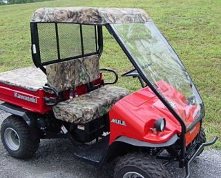 Kawasaki Mule 550 ATV UTV Doorless Cab Enclosure New