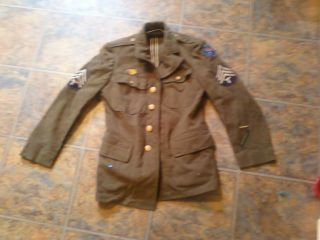 World War II US Army Pacific Sergeant Technicians Jacket