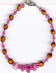 Navajo Ghost Bead Bracelet 07 Native American Jewelry