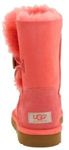 Ugg® Australia Authentic Bailey Button Kimono Poppy Boot US10 UK8 5