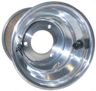 Keizer Aluminum Wheel KW2 Karting 5x6 3 Go Kart Polished Enduro