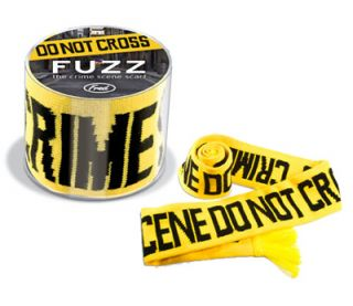 Fuzz Crime Scene do not Cross Scarf from Fred New