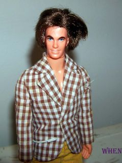 Mattel Barbie Boyfriend Mod Hair Ken Original Jacket, Pants, Shoes