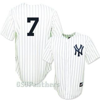 Mickey Mantle New York Yankees Cooperstown Home Jersey Mens Sz M 2XL