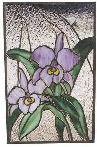 Stained Glass Supplies Orchid Panels Patterns