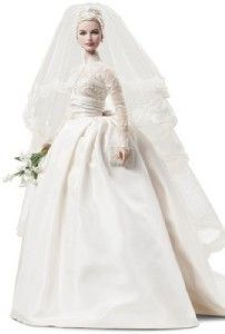Grace Kelly 2011 Gold Label The Bride Barbie Collector Doll Silkstone