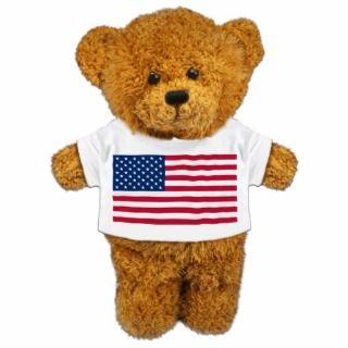 Teddy Bear USA Acrylic Cut Outs