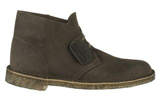 Clarks Originals Mens Desert Boots Taupe Suede 78354 Sz 9 5 M