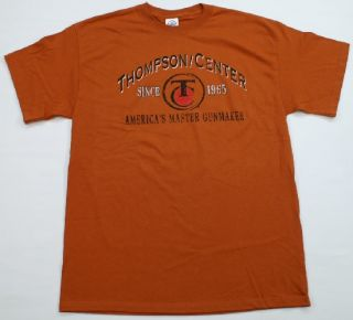 Thompson Center Arms T Shirt Gun Maker Hunting Rifle Rimfire Skull