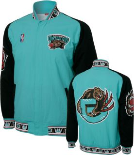 Vancouver Grizzlies Light Blue Mitchell Ness Authentic Warm Up Jacket