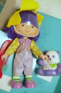Vintage Strawberry Shortcake Kenner Dolls Cafe Ole Almond Tea w