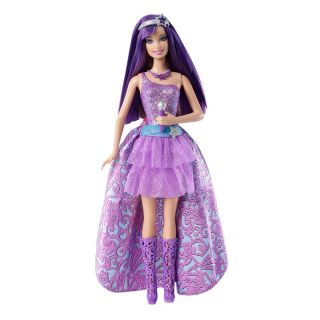 Barbie The Princess The Popstar Keira 2 in 1 Transforming Singing Doll