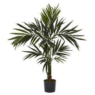 SILK KENTIA PALM TREE ARTIFICIAL FAKE TROPICAL HOUSE PLANT   NN5340