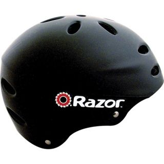 Kent International Razor V17 Child Helmet Gloss Black