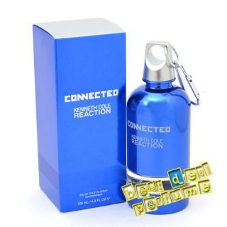 Connected  Kenneth Cole  4 2 oz EDT Men Cologne 125 ml  New in