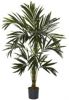 Natural Artificial 6 ft Kentia Palm Silk Tree Tropical Decor