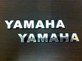 A045 Yamaha R6 R1 YZF Logo Emblem Sticker Decal Aluminium Waterproof