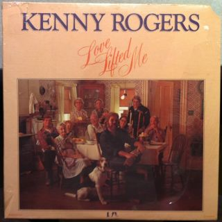 Kenny Rogers Love Lifted Me LP SEALED UA LA607 G Vinyl 1976 Record