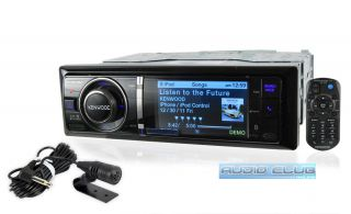 Kenwood Car Stereo in Dash 3 LCD MP3 Digital Media Receiver Bluetooth
