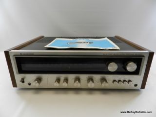 Vintage Kenwood KR 6400 Solid State AM/FM Stereo Receiver AS IS Parts