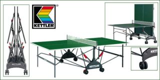 Kettler Stockholm Indoor Folding Table Tennis Table