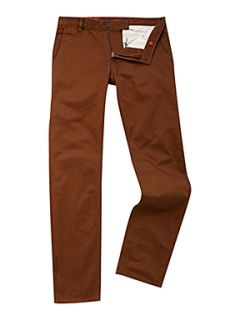 Dockers Alpha khaki tapered straight fitted chino`s Brown
