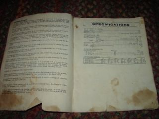 Kewanee 500 Series Elevator Owners Manual