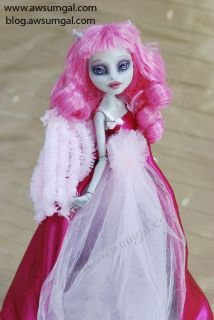 Kennedy OOAK Custom Monster High Rochelle Goyle Repaint Redress Doll