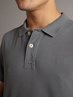 Farrell Vintage polo shirt Grey