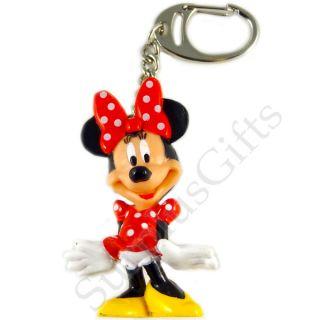 Disney Minnie Mouse Full Figure PVC Keyring Keychain