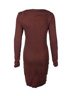 Bench Womens latus jersey dress Dark Brown