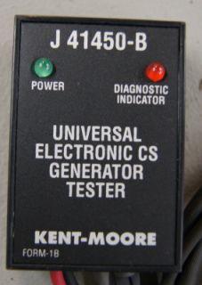 Kent Moore J 41450 B Universal GM CS Electronic Generator Tester