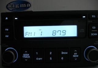 Kia Optima 2006 2007 Magetis 2007 CD Player Radio M445 Dark Gray