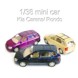 Kia Carens Rondo 1 38 Diecast Model Mini Car New Blue