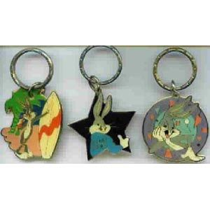 Looney Tunes Bugs Bunny Keychains Set 1 3