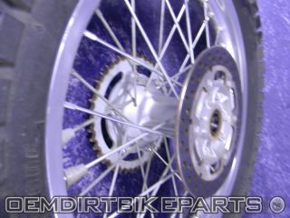 Suzuki DRZ400S Wheel Set Front Rear Rim 2000 2001 2002 2003 2004 2005