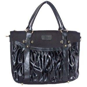 Kerri Mack Bernice Design Black Womens Laptop Bag