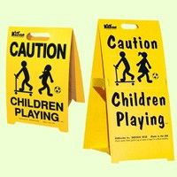 Kidkusion Driveway Safety Sign