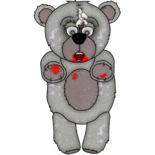 Funny Zombie Teddy Bear Photosculpture Cut Outs