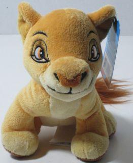 Disney The Lion King Young Kiara Bean Stuffed Plush Animal New Just