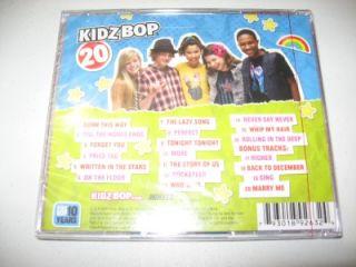SEALED Kidz Bop 20 Limited Edition 20 Track CD 4 Bonus Songs