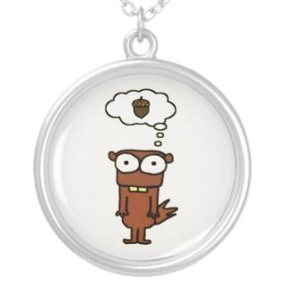 Cartoon Squirrel Necklace