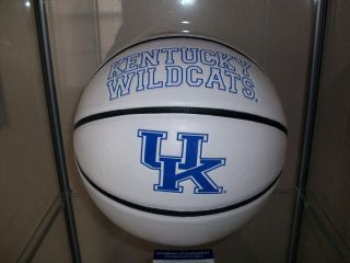 KENTUCKY WILDCATS ANTHONY DAVIS signed BASKETBALL PSA/DNA COA BUY