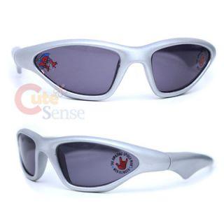 Marvel Spiderman Kids Sunglasses Silver Sports