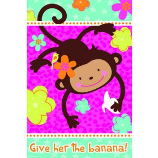 Kids Birthday Party Supplies Monkey Love Theme