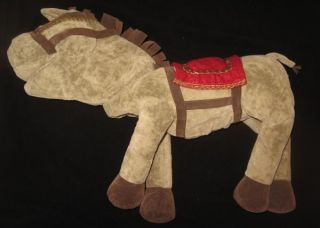 Pottery Barn Kids Horse Hand Puppet Knight Large Soft Plush Fairy Make